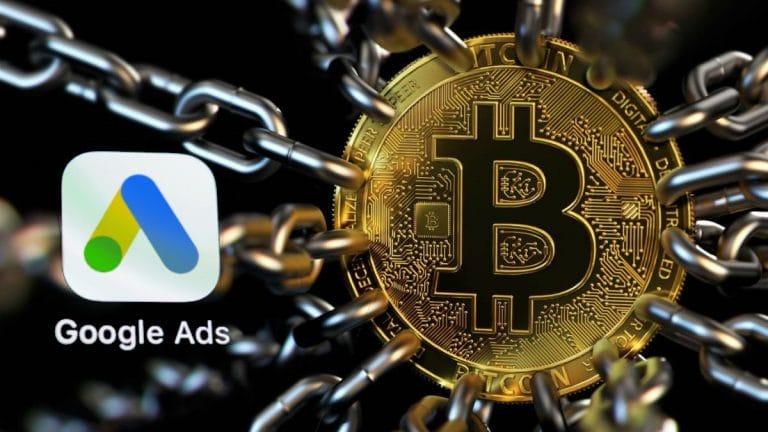 Google retirará el bloqueo a la publicidad de criptomonedas a partir de agosto de 2021